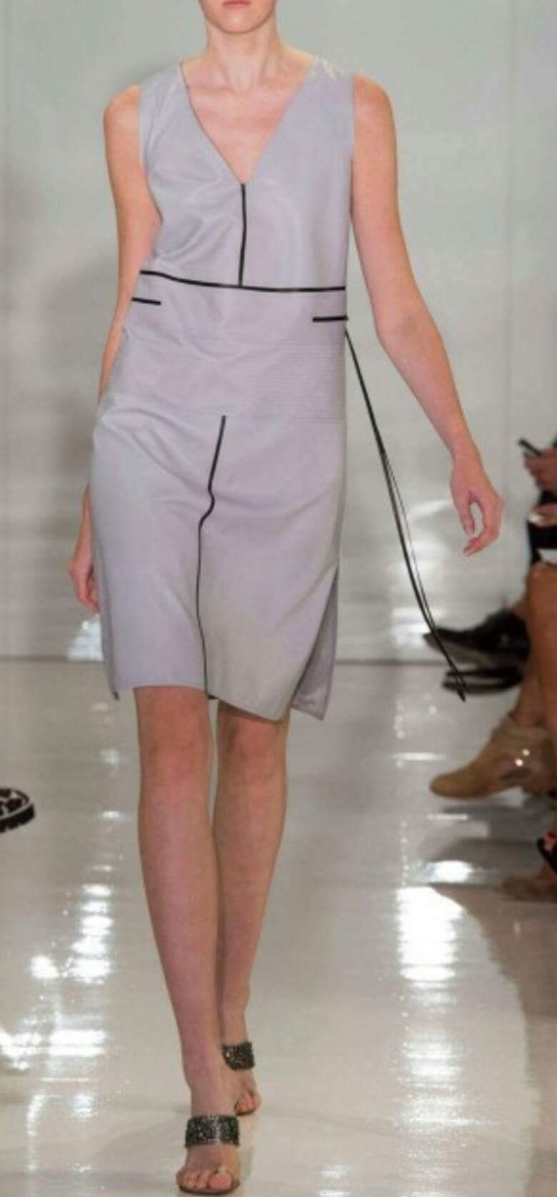 Платья из коллекции Ральфа Руччи весна-лето 2015