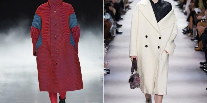 Модные пальто 2017