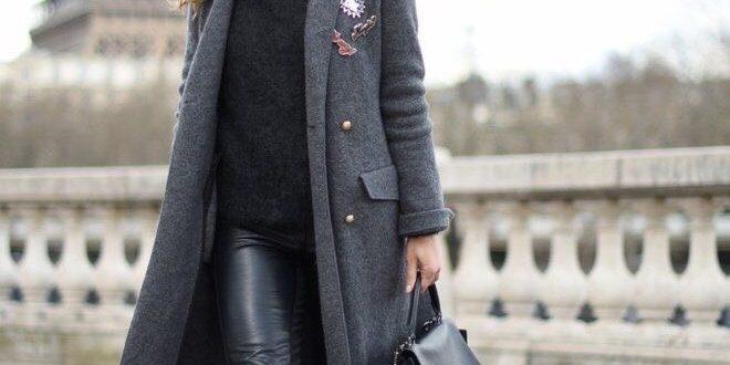 Базовый зимний гардероб