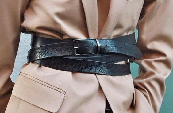 Как стильно носить ремень?