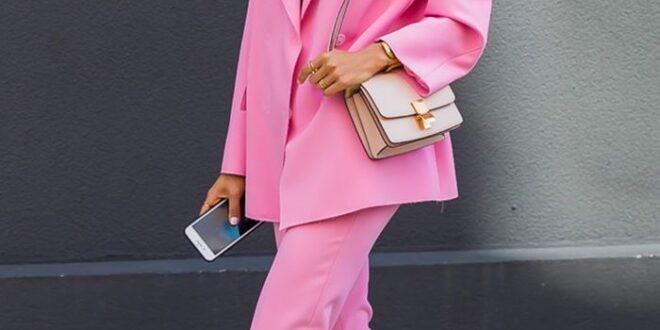 Розовый цвет в одежде💕