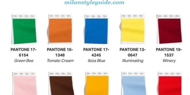Модные цвета 2021-22🧤